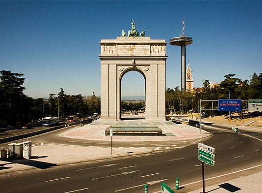 Fotos De Madrid Post De Arco De Triunfo